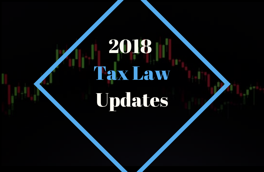 Key Tax Changes For 2018 -
